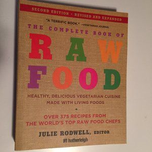 2 for $20 - The Complete Book of Raw Food